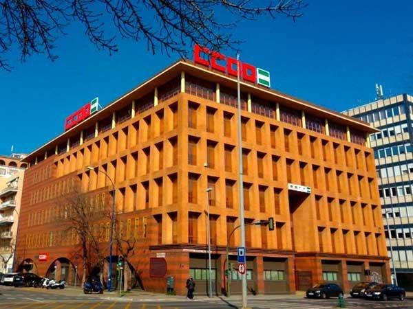 Rótulos y vinilos para la nueva sede de CCOO