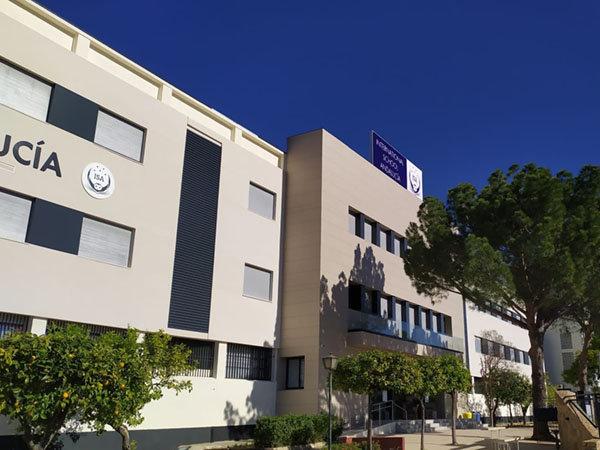 Rotulación para International School Andalucía en Sevilla